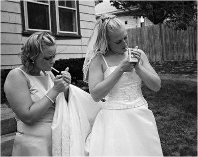 smoking-bride